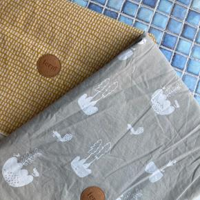 To fine sengesæt fra Ferm Living med tilhørende hovedpudebetræk. Begge dynebetræk er brugt et par gange, mens hovedpudebetrækkene er ubrugte :-)