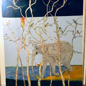 Maleri sælges af kunstneren Maas