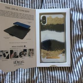 Ideal of Sweden cover til iPhone XS max. Aldrig åbnet eller brugt. Np er 250, så har sat prisen til 150, men er åben for bud :)