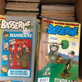 Sælger 461 basserne blade, 9 Anders And blade og nogle flere blade som fx. Steen og stoffer mm. fra 1970'erne og op efter:)