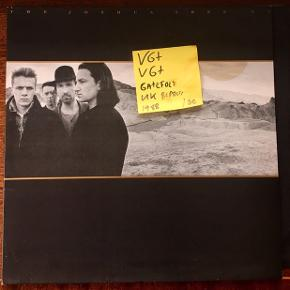 U2 vil lp plade the joshua tree i engelsk pres Super stand