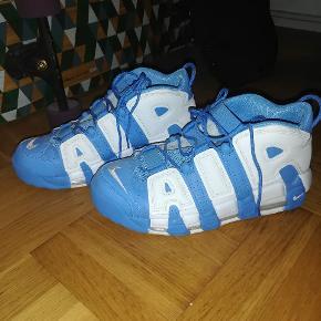 Sælger disse Nike air more uptempo, da jeg aldrig bruger dem. Kun brugt 3 gange. Skriv gerne hvis man er i tvivl om noget :)