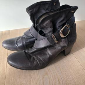 Lækre skind støvler italienske