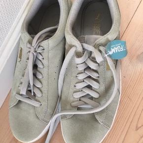 Super lækre sko fra Puma. De er aldrig brugt, da de er for små til mig. Jeg har ingen fast pris, så bare byd - Dette gælder alle min annoncer😇 Hvis der er noget, du er i tvivl om, så bare skriv - Jeg sender også gerne flere billeder🙃