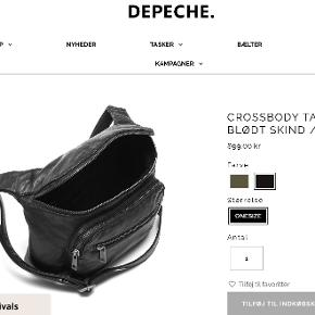 DEPECHE crossbody-taske
