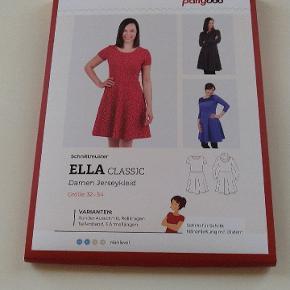 Nyt retro jersey kjole snitmønster symønster