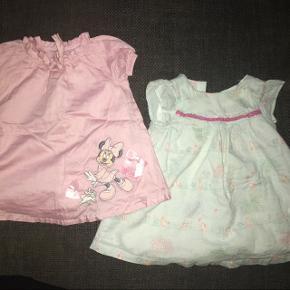 62 / 68 tøjpakker kjoler Disney Minnie lyserød John Lewis lyseblå m kaniner
