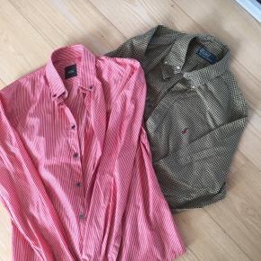 1 skjorte Mads Nørgaard str S og 1 skjorte Polo by Ralph Lauren str M
