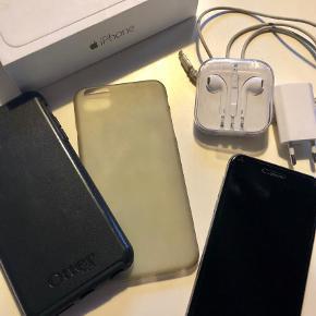 539b3d1d2f1 Varetype: iPhone 6 Plus Størrelse: 128gb Farve: Sølvgrå Kvittering haves. Prisen  angivet