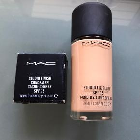 Helt ny foundation i farve nw15 og ny concealer i samme farve som kun er blevet switset  Sælges samlet 275 kr