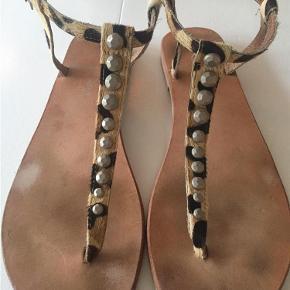 Varetype: Sandaler Farve: Leopard  null