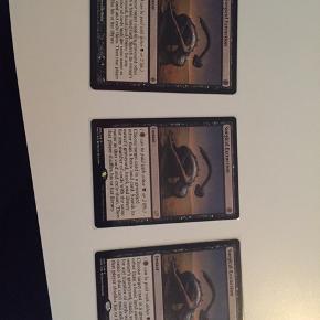 Magic kort : 3 Surgical til en samlet pris på 850kr. Vil helst  hvis det kan afhentes i Aalborg eller omegn.
