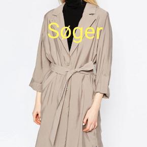 Søger denne frakke fra Monki!
