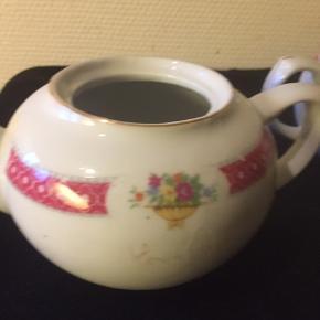 Porcelæns te kander i forskellige størrelser   Fra: 25 og op