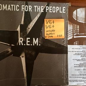 Rem automatic for the people lp vinyl plade super stand