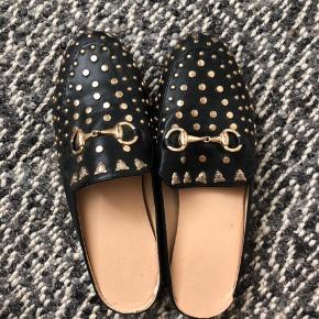 Gucci-inspirerede sko fra ukendt mærke