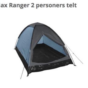 2-personers festival-telt fra Bilka. Sælges fordi jeg har et i overskud. Nypris var 289 kr. BYD gerne, jeg skal bare af med det hurtigst muligt. <3