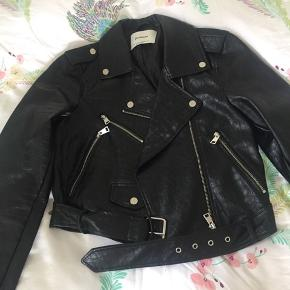 Barely used faux leather jacket