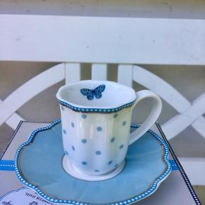 Helt nye Espresso kopper fra Lisbeth Dahl. 10 kopper med underkop. Sælges samlet eller hver for sig BYD gerne