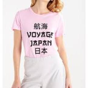 Fin T-shirt med tryk