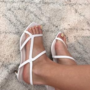 Søde sandaler med lille hæl fra H&M🤍