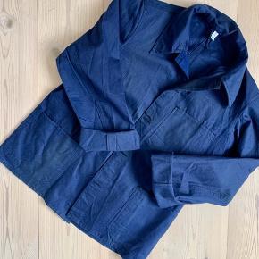 Super nice vintage Japanese style workwear jacket in beautiful cotton fabric ⚪️🔵⚪️