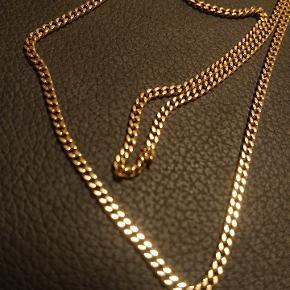 8 karat guld panserkæde Ca 8 g 50cm