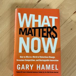 What matters now Gary Hamel book