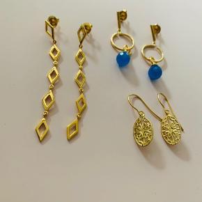Smukke Izabel Camille øreringe. Mindsteprisen er 150 kr. + porto. Bytter ikke