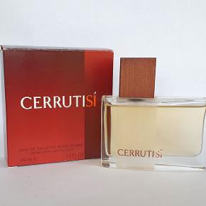 Nino Cerruti Cerrutisi, 40ml edt m/æske, dejlig blød og diskret herreduft, udgået og sjælden, køber betaler porto