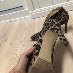 Brugt 2 gange- leopard sko fra Paul Green