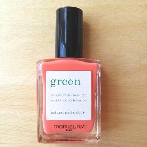 Mærke: Manucurist Paris Natural nail colour Green Nail Lacquer Farve: Bird of Paradise / Koral Naturlig og vegansk neglelak 15 ml. Aldrig brugt og aldrig åbnet