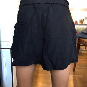 Søde hør shorts med lomme detaljer foran