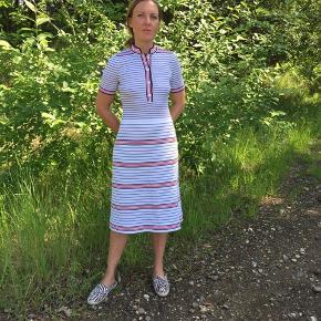 Vintage strik kjole i str S/M