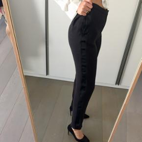 H&M studio, tuxedo trousers with silk side detail, never worn (too big)
