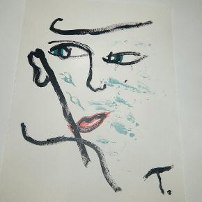 Sælger disse malerier UDEN Ramme. 200 kr. Inklusiv fragt 27 x 36  cm  Følg med på min profil, flere malerier er til salg.