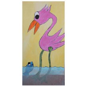 Acryl på lærred 30x60 cm Se flere billeder på http://soedejulie.wixsite.com/dyrforsjov