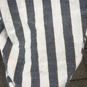 Brugt 1 gang!   Ny pris 350  Skøn stribet kjole   Med eller uden stropper  Køber betaler fragt   Skriv gerne for forhandling af pris☺️