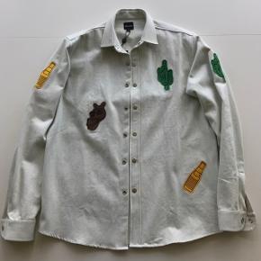 Pleasant Patch Jacket. Helt ny og aldrig brugt størrelse medium - originale tags medfølger