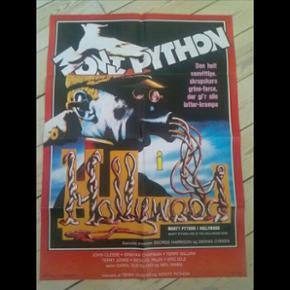 Original filmplakat Monty Python i Hollywood 62 x 84 cm Har været foldet
