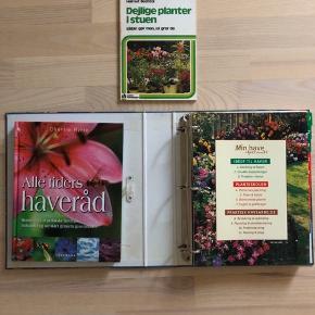 Havebøger samlet pris 50 kr eller byd