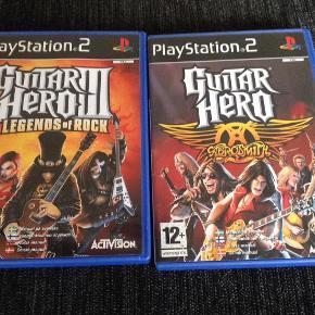 Sælges samlet Guitar Hero Farve: -