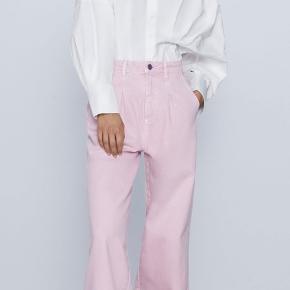 Jeans fra ZARA i flot lyserød farve Pris 200,- pp Str 32 (32-lille 34) 💘