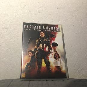 Jeg sælger de 2 første film i serien om Captain America til 25kr pr stk eller 45kr for dem begge samlet. 😀  1. Captain America: The First Avenger  2. Captain America: The Winter Soldier