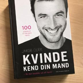 """Helt ny bog fra Jakob Olrik. """"Kvinde kend din mand"""". Byd gerne!"""