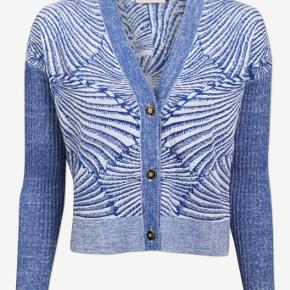 Cookie blue tiger shell cardigan.