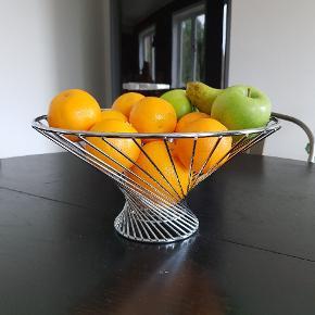 Super fin frugtkurv, b: 30 cm, h: 15 cm - byd gerne 🍊