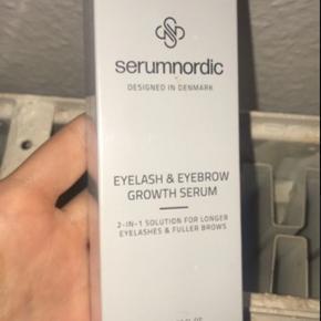 Serum Nordic Eyelash Serum & Eyebrow Growth Serum er et sikkerhedsgodkendt 2-i-1 produkt, der består af både et vippe- og brynserum, så du kan nøjes med at have dette enkelte produkt ved hånden.   Aldrig brugt. Jeg købte to og sælger nu denne. Køber betaler fragt, tager ikke ting retur.