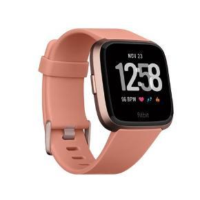 Smartwatch, Fitbit versa ur i rosa. Brugt i 1,5 år, rigtig flot stand. Sportsur der kan måle puls, søvn, skridt og meget mere. Man kan downloade apps på osv. Jeg har en ekstra rem til i sort metal.