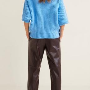 De fedeste bukser fra Mango i imiteret skind 🌾